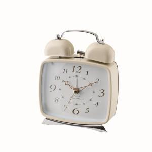 INTERFORM インターフォルム 置き時計 ARIELLE -アリエル- CL-6876IV (新生活応援 インテリア 置時計 おしゃれ 北欧 プラスチック)|donguri-tree