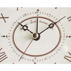 INTERFORM インターフォルム 置き時計 DIONA -ディオナ- CL-7554IV (新生活応援 インテリア 置時計 おしゃれ 北欧 プラスチック)|donguri-tree|02