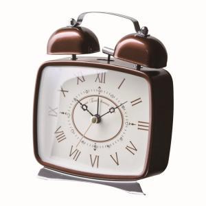 INTERFORM インターフォルム 置き時計 DIONA -ディオナ- CL-7554BN (新生活応援 インテリア 置時計 おしゃれ 北欧 プラスチック)|donguri-tree