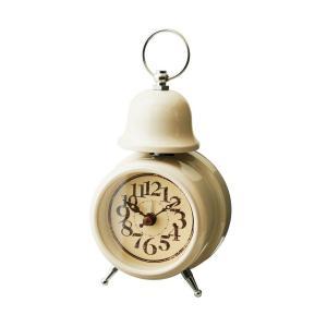 INTERFORM インターフォルム 置時計 ORLY オルリー IV アイボリー CL-7994IV (新生活応援 インテリア 置き時計 おしゃれ 北欧 プラスチック)|donguri-tree