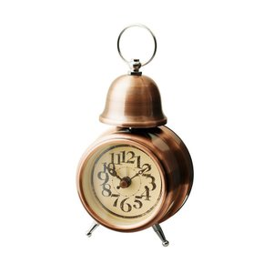 INTERFORM インターフォルム 置時計 ORLY オルリー BR ブロンズ CL-7994BR (新生活応援 インテリア 置き時計 おしゃれ 北欧 プラスチック)|donguri-tree