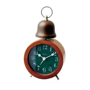 INTERFORM インターフォルム 置時計 BIOT ビオット GN グリーン CL-7999GN (新生活応援 インテリア 置き時計 木製 おしゃれ 北欧 プラスチック)|donguri-tree