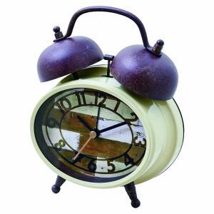 INTERFORM インターフォルム 置き時計 BLESSA ブレッサ IV アイボリー CL-8344IV (新生活応援 インテリア 置時計 木製 おしゃれ 北欧 プラスチック)|donguri-tree