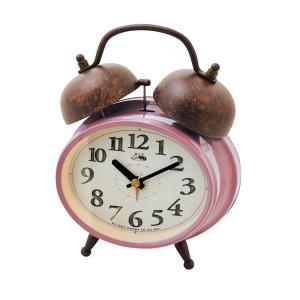 INTERFORM インターフォルム 置時計 Dinant ディナント PK ピンク CL-8955PK (新生活応援 インテリア 置き時計 おしゃれ 北欧 プラスチック)|donguri-tree
