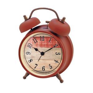 INTERFORM インターフォルム 置時計 Gaw ガウ RD レッド CL-8956RD (新生活応援 インテリア 置き時計 おしゃれ 北欧 赤 red プラスチック)|donguri-tree