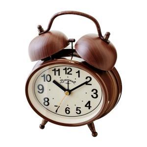 INTERFORM インターフォルム 置時計 Loro -ロロ- BN ブラウン CL-9366BN (新生活応援 インテリア 置き時計 木製 おしゃれ 北欧 プラスチック)|donguri-tree