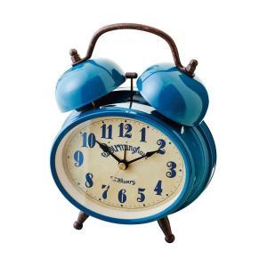 INTERFORM インターフォルム 置時計 Greiz -グライツ- BL ブルー CL-9375BL (新生活応援 インテリア 置き時計 木製 おしゃれ 北欧 プラスチック)|donguri-tree