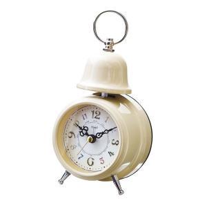 INTERFORM インターフォルム 置時計 Rouille ルイエ IV アイボリー CL-9708IV (新生活応援 インテリア 置き時計 おしゃれ 北欧 プラスチック)|donguri-tree