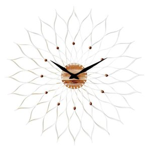 INTERFORM インターフォルム 掛け時計 Leffard ルファール WH ホワイト CL-9903WH (新生活応援 インテリア 掛時計 かけ時計 壁掛け おしゃれ 北欧 プラスチック)|donguri-tree