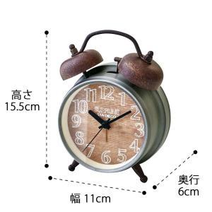 INTERFORM インターフォルム 置き時計 Bossen ボッセン CL-9908 (新生活応援 インテリア 置時計 おしゃれ 北欧 プラスチック) donguri-tree 02