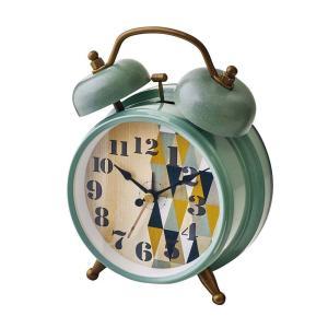 INTERFORM インターフォルム 置き時計 Eind アイント GN グリーン CL-9910GN (新生活応援 インテリア 置時計 おしゃれ 北欧 プラスチック)|donguri-tree