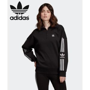 アディダス adidas トップス ハーフジップ スウェット LOCK UP SWEATSHIRT ...