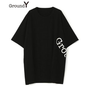 Ground Y グラウンド ワイ メンズ Tシャツ GROUND Y LOGO JUMBO TEE...