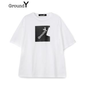 Ground Y グラウンド ワイ メンズ Tシャツ PATCHWORK CUT TEE GA-T7...