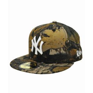 cb127cd790162 ニューエラ キャップ ◇ NEW ERA 59FIFTY ツリーカモ ニューヨーク・ヤンキース ツリーカモ ×スノーホワイト 11781640 メンズ  帽子 総柄 迷彩 送料無料