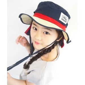 Kids Foret(キッズフォーレ) キッズ撥水アドベンチャーハット  ■サイズ(cm) 頭周り:...