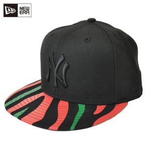 1824febd07e5a ニューエラ キャップ 帽子 NEW ERA 送料無料 59FIFTY レッド & グリーンストライプス ニューヨーク・ヤンキース ブラック  [11474985] newera