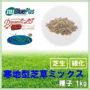 種子 寒地型芝草ミックス1kg 25〜33平米分|donoubukuro