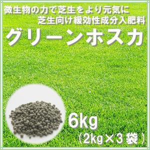 肥料 グリーンホスカ 6kg(2kg×3袋)|donoubukuro