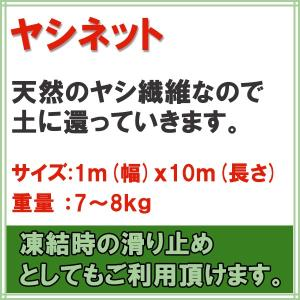 ヤシネット 1m×10m|donoubukuro