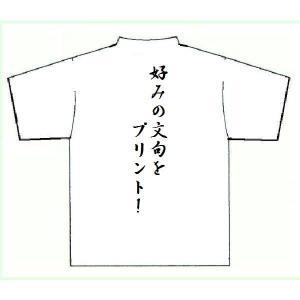 あなただけのカスタムマークのプリントTシャツ  ポリエステル100%、吸汗速乾のシャツにあなたの「自...