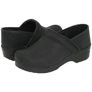 ダンスコ Dansko レディース 靴・シューズ クロッグス  ミュール Dansko Professional Black Oiled