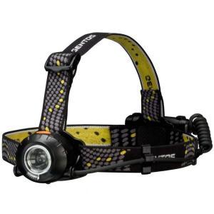 GENTOS(ジェントス) LED ヘッドライト (明るさ230ルーメン/実用点灯8時間/防滴) ヘッドウォーズ HW-999H|dora-store