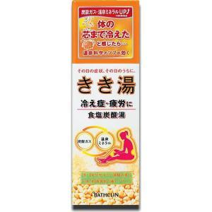 きき湯 食塩炭酸湯360g約12回分|doradora-drug