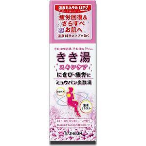 きき湯 ミョウバン炭酸湯360g約12回分|doradora-drug