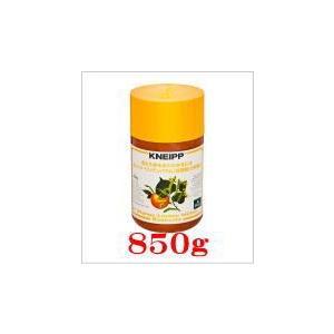 クナイプ バスソルトオレンジ・リンデンバウム(菩提樹)の香り850g×1個|doradora-drug