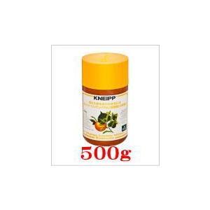 クナイプ バスソルトオレンジ・リンデンバウム(菩提樹)の香り500g×1個|doradora-drug