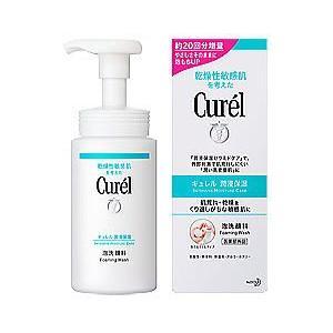 キュレル泡洗顔料150ml セラミドを守って洗う|doradora-drug