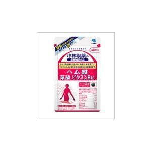 小林製薬の栄養補助食品ヘム鉄 葉酸 ビタミンB12 90粒|doradora-drug