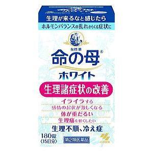 命の母ホワイト180錠【第2類医薬品】 doradora-drug