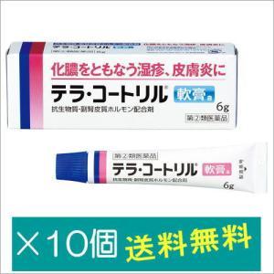 テラ・コートリル軟膏a6g×10個【指定第2類医薬品】