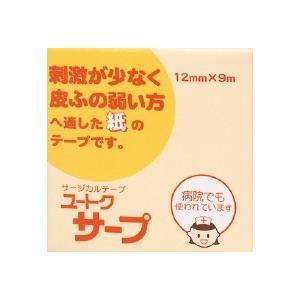 ユートクサープ 12mm×9m【サージカルテープ】|doradora-drug