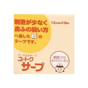 ユートクサープ(12mm×9m)×10個【サージカルテープ】|doradora-drug