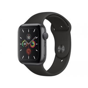 【中古】Apple Apple Watch Series5 44mm GPSモデル MWVF2J/A スペースグレイアルミニウムケース ブラックスポーツバンド【アップルウォッチ】 dorama2