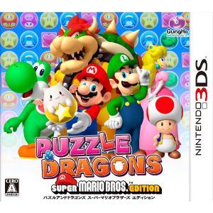 パズル & ドラゴンズ スーパーマリオ ブロスエディション 3DS / 中古 ゲーム|dorama2