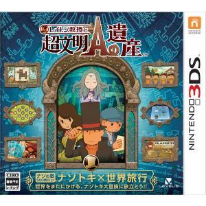 レイトン教授と超文明Aの遺産 3DS / 中古 ゲーム|dorama2