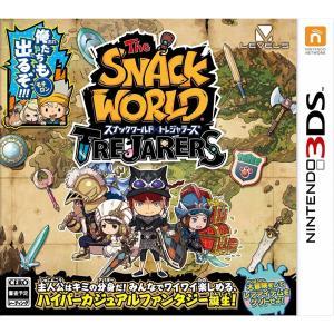スナックワールド トレジャラーズ 3DS / 中古 ゲーム|dorama2