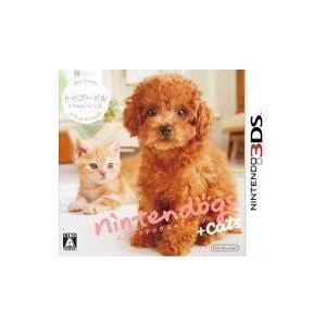 nintendogs + cats トイプードル & Newフレンズ 〔 3DS ソフト 〕《 中古 ゲーム 》