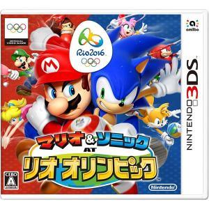 マリオ&ソニック AT リオオリンピック 3DS / 中古 ゲーム