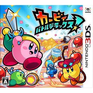カービィ バトルデラックス 3DS / 中古 ゲーム|dorama2