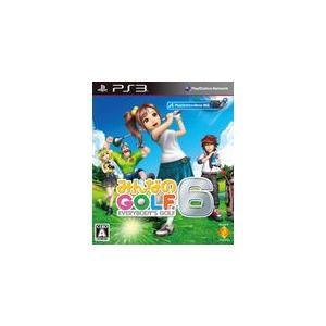 みんなのGOLF 6 PS3 ソフト BCJS-30089 / 中古 ゲーム|dorama2