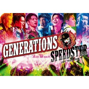 新品/DVD/GENERATIONS LIVE TOUR 2016 SPEEDSTER GENERATIONS from EXILE TRIBE|dorama2