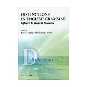 新品本/DISTINCTIONS IN ENGLISH GRAMMAR Offered to Ren...