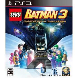 LEGO バットマン3 ザ ゲーム ゴッサムから宇宙へ PS3 ソフト BLJM-61243 / 新品 ゲーム|dorama2