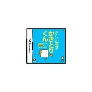 DS陰山メソッド 電脳反復 正しい漢字かきとりくん DS ソフト NTR-P-A8KJ / 中古 ゲーム|dorama