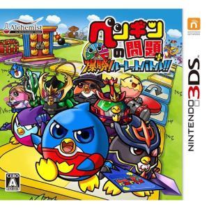 ペンギンの問題+ 爆勝!ルーレットバトル 3DS ソフト CTR-P-AYSJ / 中古 ゲーム|dorama